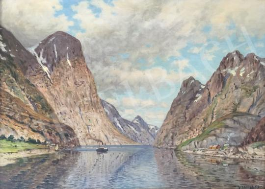 For sale Rubovics, Márk - Norwegian Fjord 's painting