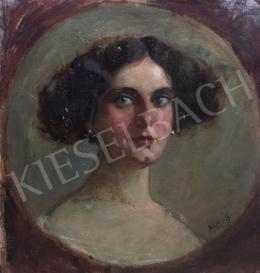 Glatter Gyula - Női portré