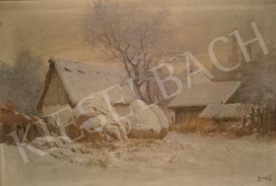 Eladó Zorkóczy Gyula - Téli táj festménye