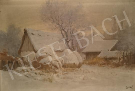 For sale Zorkóczy, Gyula - Winter Landscape 's painting