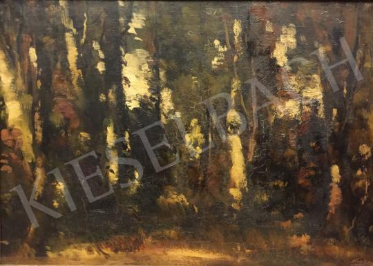 For sale Kun, István - Forest, 1963 's painting