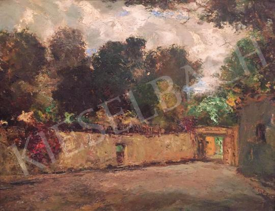 For sale  Magyar Mannheimer, Gusztáv - Interior Courtyard 's painting