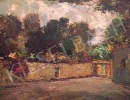 Magyar Mannheimer, Gusztáv - Interior Courtyard