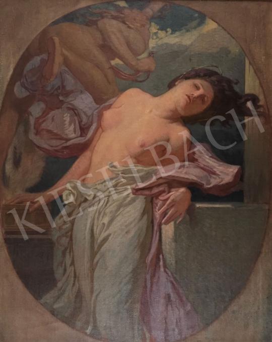 Stein János Gábor - Új fejezet (Pandora szelencéje) festménye