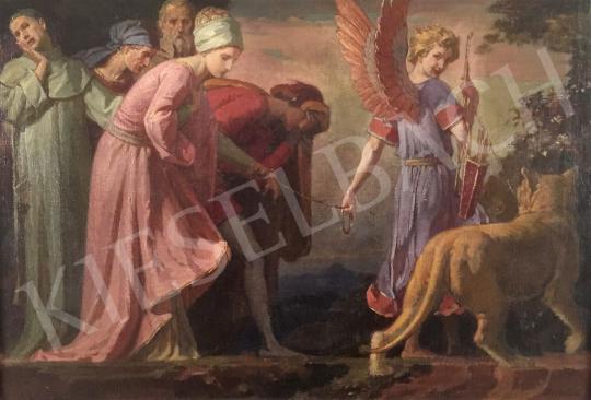 Stein János Gábor - A szerelem ereje (A szerelem bolondja, az oldalpillantás) festménye