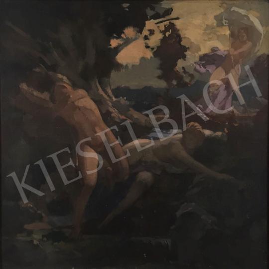 Stein János Gábor - Diana a vadászaton  festménye