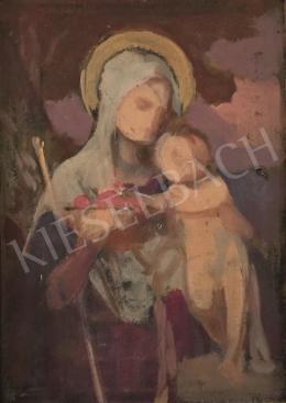 Stein János Gábor - Szűz Mária kisdeddel