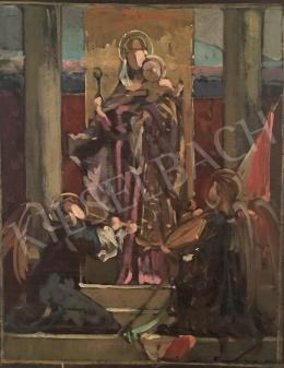 Stein, János Gábor - Hungarian Madonna
