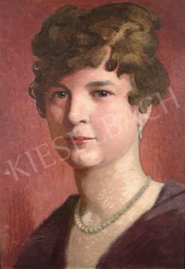 Stein, János Gábor - Portrait of a Woman