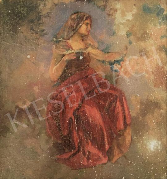 Stein, János Gábor - Women with Veil  painting
