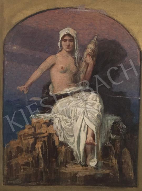 Stein János Gábor - Szépség (A sors irányítója) festménye