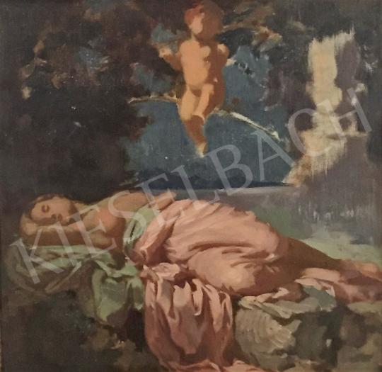 Stein, János Gábor - The Young Girl's Dream painting