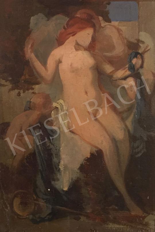 Stein János Gábor - A szerelem istennője festménye