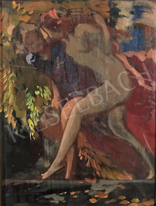 Stein János Gábor - Szerelembe lépve festménye