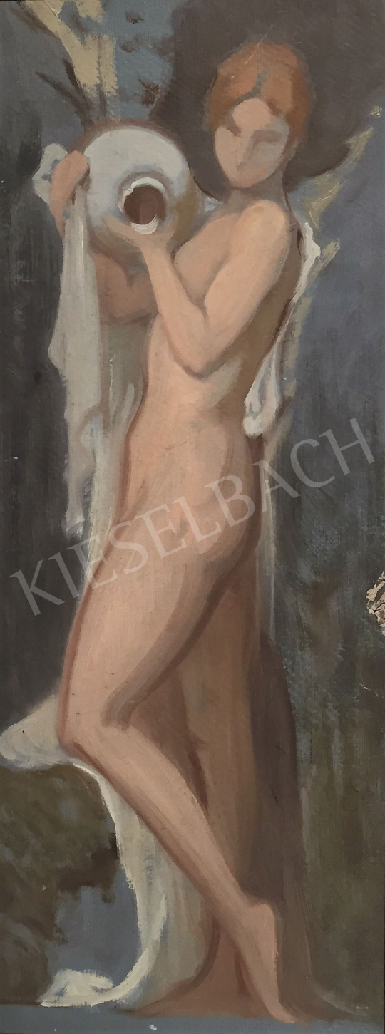 Stein János Gábor - Forrásnál festménye