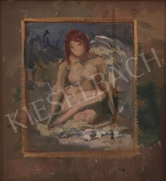 Stein János Gábor - Fiatal lány festménye