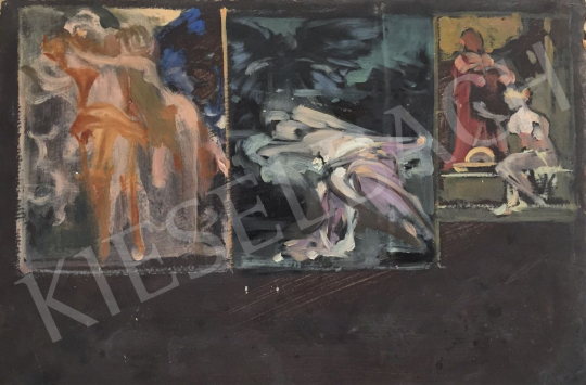 Stein, János Gábor - Sketch  painting