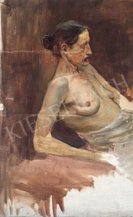 Stein, János Gábor - Old Women Portrait