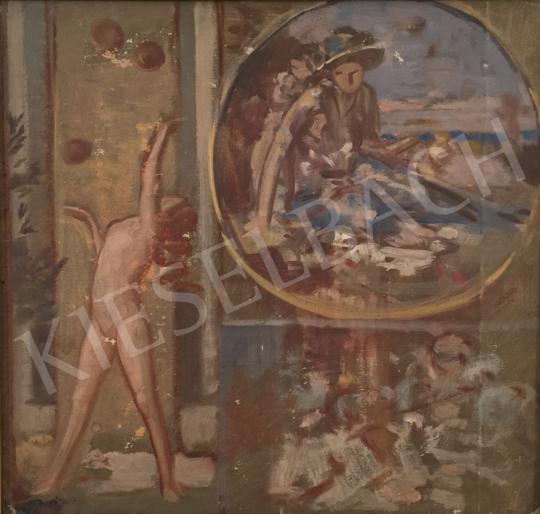 Stein János Gábor - Játék az aranyalmákkal festménye