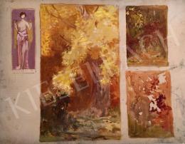 Stein, János Gábor - Autumn Landscape (Sketch)