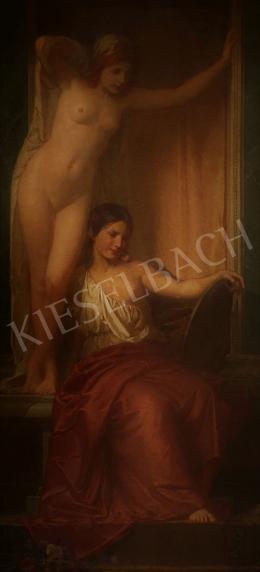 Stein János Gábor - Vörös és barna hajú szépség tükörrel (Róma aranykora)