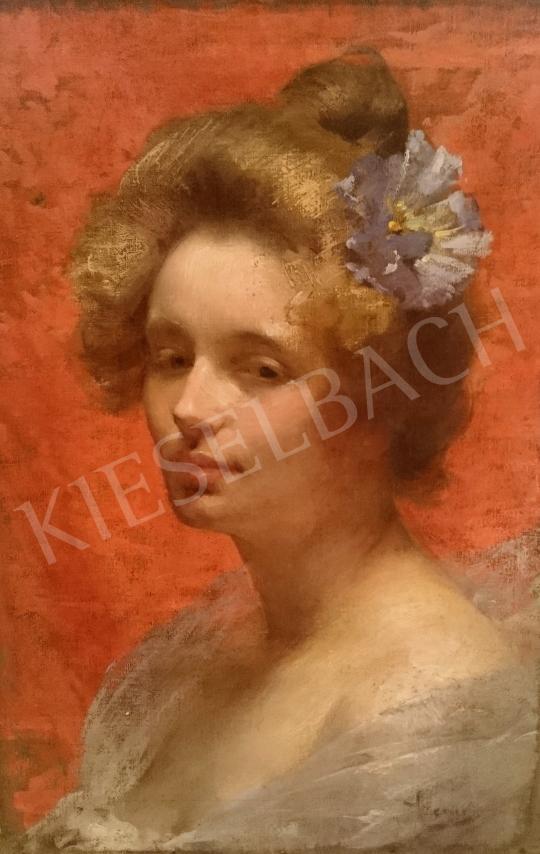 For sale Szenes, Fülöp - Lady Portrait 's painting