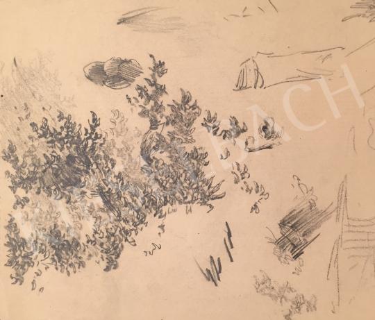 Stein, János Gábor - Forest Detail painting