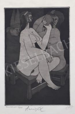Tot, Amerigo (Tóth Imre) - Combing Women