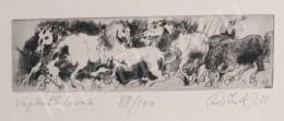 Pituk, József - Galloping Horses