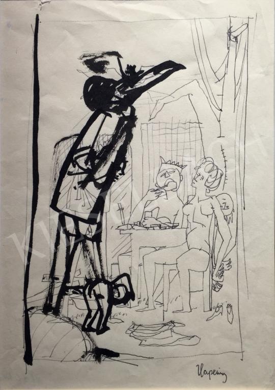Kondor Béla - Hapening -  26 grafika együtt festménye
