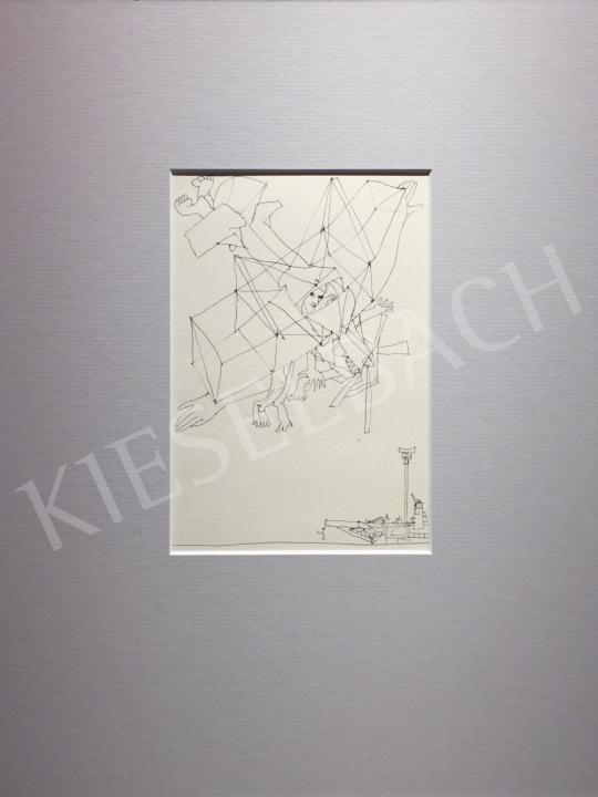 Kondor Béla - Út a repülőgép… -  26 grafika együtt festménye