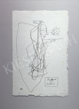 Kondor Béla - Nyugodt háború -  26 grafika együtt