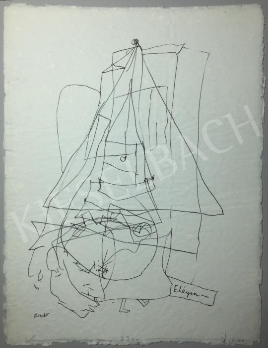 Kondor Béla - Elégia -  26 grafika együtt festménye