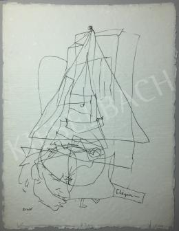 Kondor Béla - Elégia - A 26 grafika együttes ára 3 980 000 Ft