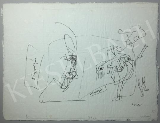 Kondor Béla - Vigyorgás -  26 grafika együtt festménye