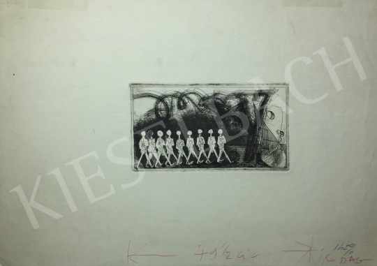 Kondor Béla - Menetelők -  26 grafika együtt festménye