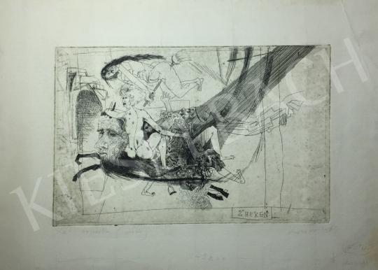 Kondor Béla - Két boszorka, 1969 -  26 grafika együtt festménye