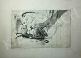 Kondor Béla - Két boszorka, 1969 - A 26 grafika együttes ára 3 980 000 Ft