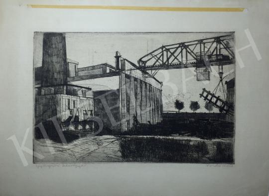 Kondor Béla - Gyöngyösi  kitévőgyár -  26 grafika együtt festménye