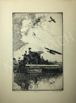 Kondor Béla - Kombájn a hevesi járásban - A 26 grafika együttes ára 3 980 000 Ft