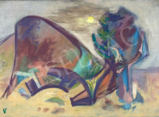 Bokros László - Vihar festménye