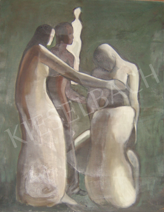 For sale Dr Belák, András - Figures 's painting