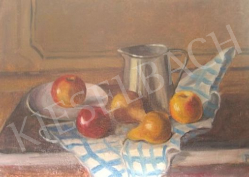 For sale Dr Belák, András - Still-Life with Apples and Pears 's painting