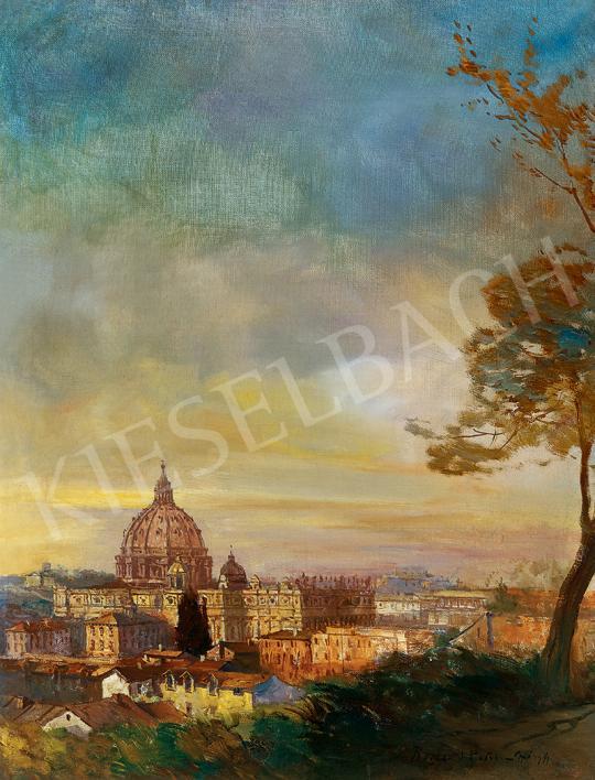Háry Gyula - Róma festménye