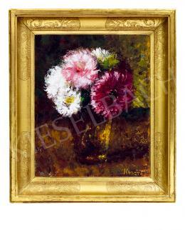 Koszta József - Virágcsendélet pohárban