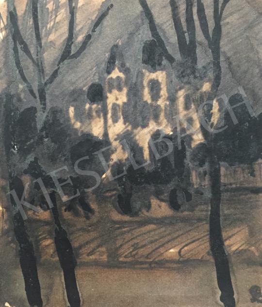 For sale  Bernáth, Aurél - Park with Castle 's painting