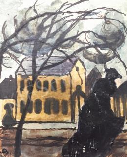 Bernáth Aurél - Utcarészlet