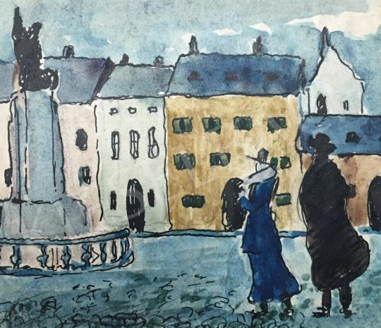 For sale  Bernáth, Aurél - On the Square 's painting
