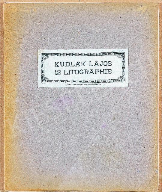 Kudlák, Lajos (Ludovik Kudlak) - Portfolio of 12 Litographs painting