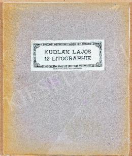 Kudlák Lajos - 12 db litográfia mappában